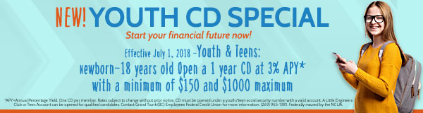 Youth CD Special Banner