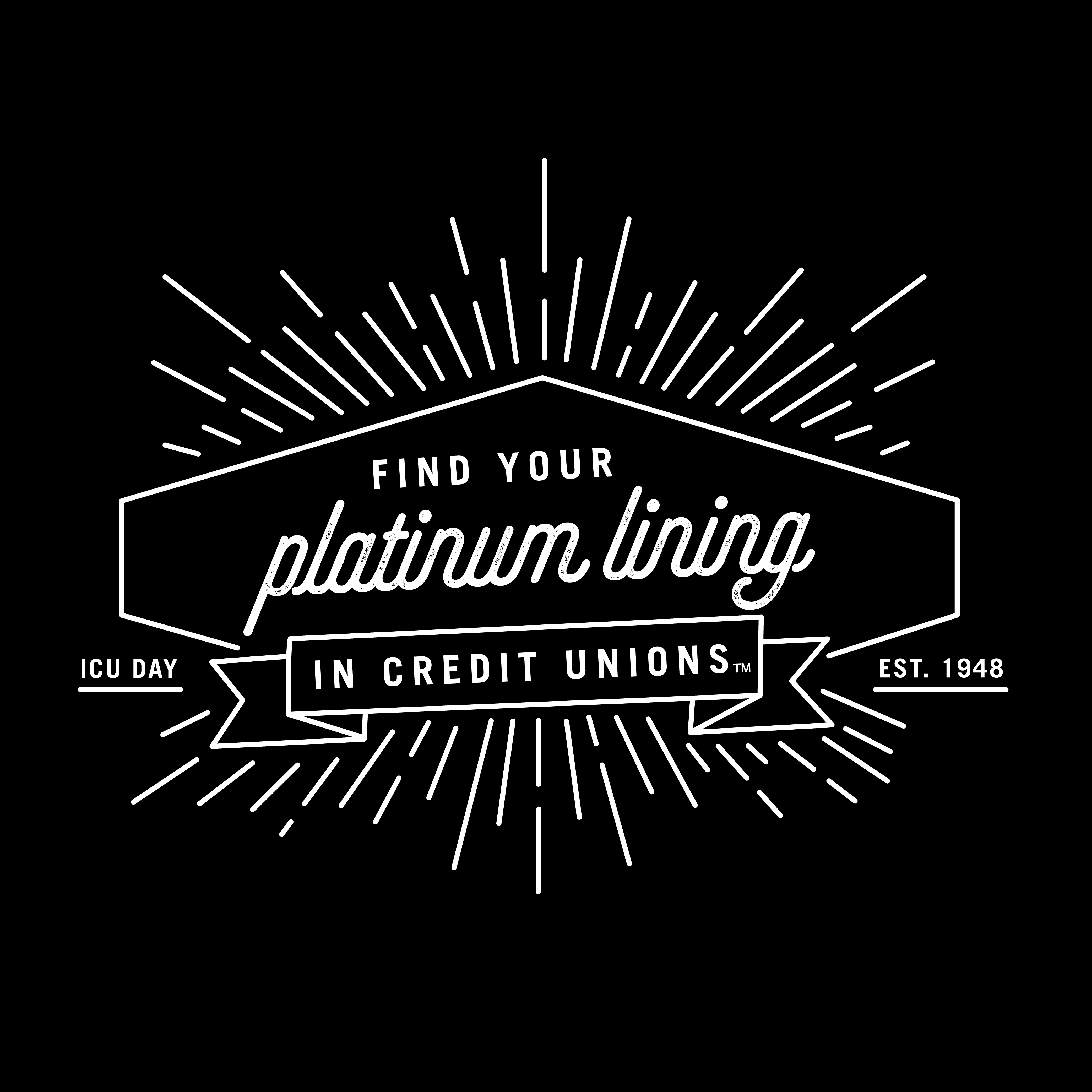 Find Your Platinum Lining ICU Day Photo