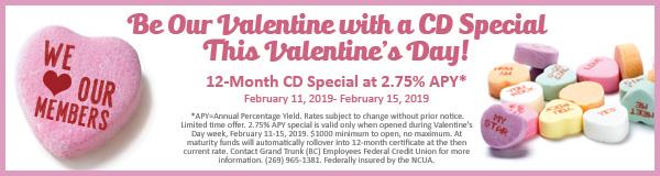 Valentine's Day CD Banner
