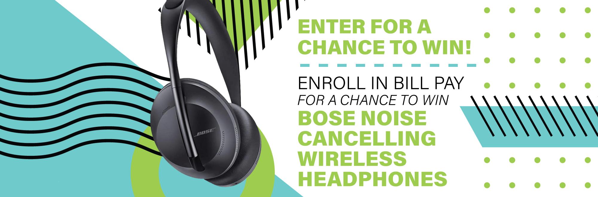 Win Bose Headphones Contest