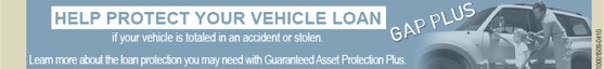 Learn about the loan protection you may need with Guaranteed Asset Protection Plus if your vehicle is totaled or stolen