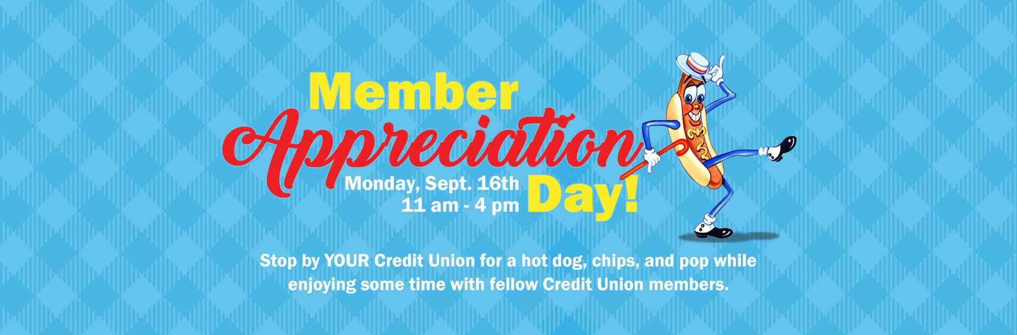 Member Appreciation Day Banner
